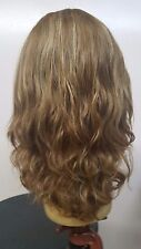 "Malky Wig Sheitel 100% European Multidirectional Wig Dirty Blonde 14-8 16"" wavy"