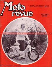 MOTO REVUE 1266 VICTORIA KR 21 Swing BSA Dandy UTAC Montlhéry Tour BELGIQUE 1955