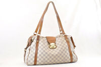 LOUIS VUITTON Damier Azur Stresa GM Shoulder Bag N42221 LV Auth sa1179
