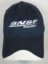 BNSF RAILWAY Perfect Peak Season 2011 RAILROAD Train ADVERTISING HAT CAP