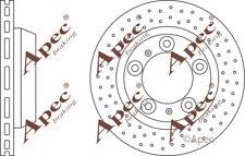 REAR BRAKE DISCS (PAIR) FOR PORSCHE CAYMAN GENUINE APEC DSK2689