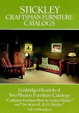 Stickley Craftsman Furniture Catalogs by Gustav Stickley, J. G. Stickley and...