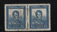 "CHILE 1932 Sc.182 O'Higgins error variety ""I & N"" joined in O'Higgins"
