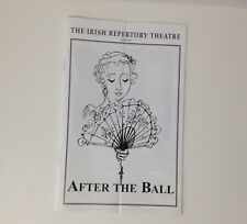 Irish Repertory Theatre Booklet After The Ball 2004 2005 Theater Noel Coward