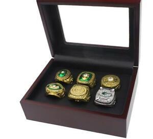 6Pcs 1961 1965 1966 1967 1996 2010 Green Bay Packers Championship ring !!-