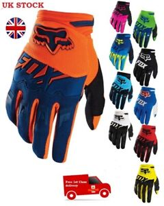 Fox Dirtpaw Racing Race Gloves MX Motocross Off Road Dirt Bike  ATV KTM TLD 100%