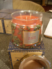 Partylite WINTER BERRIES SIGNATURE 3-wick JAR CANDLE  BRAND NEW FALL 2016