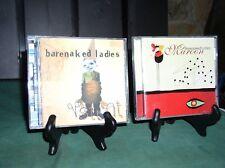 2 BARENAKED LADIES CDS~ STUNT & MAROON  [BOTH EXC +]