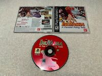 Inuyasha: A Feudal Fairy Tale (PlayStation 1, 2003) PS1 Black Label Complete NM