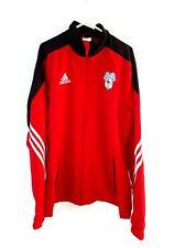 Cardiff City Chaqueta Abrigo. medio. Adidas. Rojo Adultos Manga Larga Fútbol M.