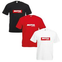 Motul T-Shirt Motor Oil Car Enthusiast Rally F1 Racing VARIOUS SIZES & COLOURS