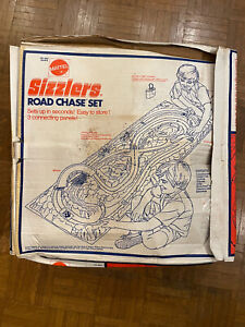 Mattel Hot Wheels Sizzlers Road Chase Set + RED BARON in Sealed Bag Vintage 1973