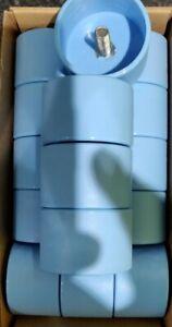 IKEA STUVA GRUNDLIG Wardrobe Legs BLUE SCREW-ON ENDCAPS ONLY (SOLD IN PAIR)