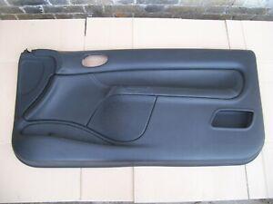 PEUGEOT 206 CC O/S/F DRIVER DOOR CARD TRIM BLACK LEATHER 3 DOOR 96608148ZR