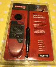 AMPROBE TMA5 MINI VANE ANEMOMETER WITH HUMIDITY.  Brand New Sealed. Save $$.