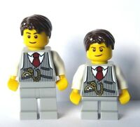 LEGO 2 Wedding Minifigure Figure Grey Suit Groom Best Man Usher Pageboy