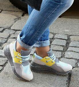 STEVE MADDEN Sneaker CLIFF Blau Grau SM11000185-04005-450  Reduziert!!!
