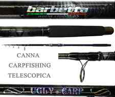 canna ugly pesca a fondo telescopica carpfishing carpa storione carbonio