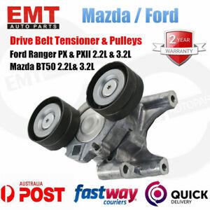 Drive Belt Tensioner & Pulleys For Ford PX & MKII Ranger 2.2/3.2 Mazda BT-50