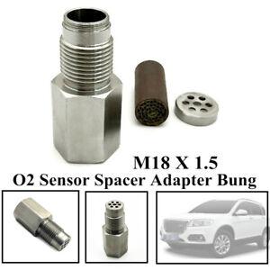 Car Check Engine Light Fix Catalytic Mesh Strong O2 Oxygen Sensor Spacer Adapter