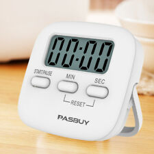 Large LCD Digital  Magnetic Kitchen Timer Cooking Loud Alarm Stand Count Up Down