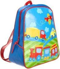 76f802da7f5b Personalised Stephen Joseph Boys School Backpack Nursery Birthday Bag Tag  Transpo