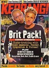 Feeder & Skunk Anansie on Kerrang Cover 1998    Placebo    Richie Sambora
