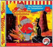 CD * BENJAMIN BLÜMCHEN - FOLGE 81 - DAS GEHEIMNIS DER TEMPELKATZE # NEU OVP KX