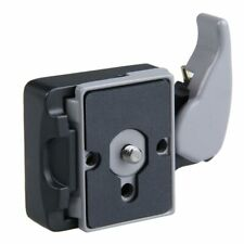 Camera 323 Quick Release Plate Mount Adapter with Manfrotto 200PL-14 Compat