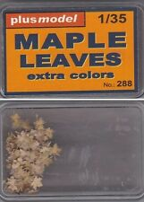 PLUSMODEL PLUS MODEL 288 - LEAVES MAPLE (EXTRA COLORS) - 1/35 RESIN