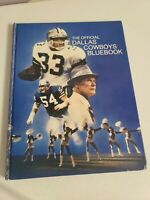 Vintage 1980 Nfl The Official Dallas Cowboys Bluebook
