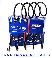 2x KILEN FRONT COIL SPRINGS (PAIR) MERCEDES C CLASS W203 WITH SPORTS SUSPENSION