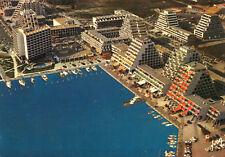 Carte LA GRANDE MOTTE Vue aérienne Le quai d'Honneur et l'Acapulco