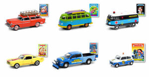 Greenlight Garbage Pail Kids series 3 complete set of 6 cars.  PREORDER