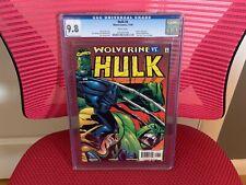 Hulk #8 CGC 9.8 White Pages Hulk vs. Wolverine Tyrannus App