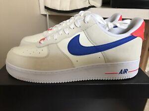 Nike Air Force 1 '07 LV8 Coconut Milk Hyper Royal Crimson Men's 13 DM8314-100