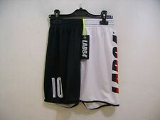 Lab84 Costume Pantaloncino Dryfit SHTU1008FLAG Germania Bianco Nero