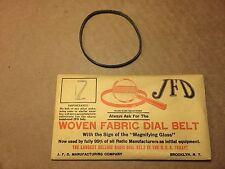 NOS Antique JFD Fabric Radio Dial Belt Number 7 GUARANTEED