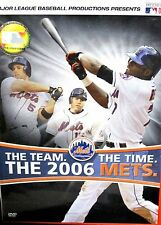 The Team, The Time, The 2006 Mets DVD MLB Baseball Rare Footage All Star Game