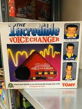 Tomy the Incredible Voice Changed Vocal Effects New