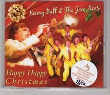 (HI849) Kenny Ball & The Jive Aces, Happy Happy Christmas - 2010 CD