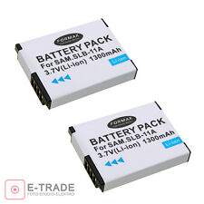 2pcs - SLB-11A Battery For Samsung WB600 WB-600 WB-610 WB650 WB-650 WB660 WB-660