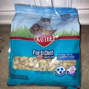 Kaytee Pro Health Mouse, Rat, and Hamster Food 5 lb (normally $13)