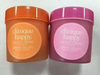 New Clinique Happy Gelato Cream For Body 6.7 oz/200 ml Happy/Berry Blush Scents
