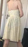 Whistles Pure Silk Layered Dress Sun Dress Size 14
