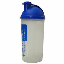 CMS Medical Universal Sports Tech Protein Gym Shaker Mixer Plastic Bottle x 1