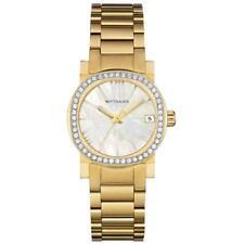 Wittnauer Women's Crystal Accents Quartz Gold-Tone 28mm Watch WN4002