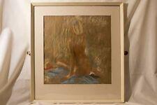 "Joan Gibbins - Pastel entitled ""summer 95 - Barlaston"""