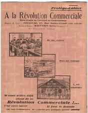 ancien protège cahier publicitaire révolution commerciale toulouse tacot