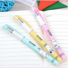 3pcs Cute Moomin Cartoon Blue Ink Gel Pen Set. Kawaii Stationery. UK SELLER.